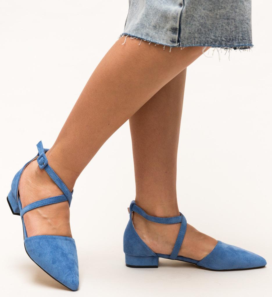 Обувки Amisha Сини