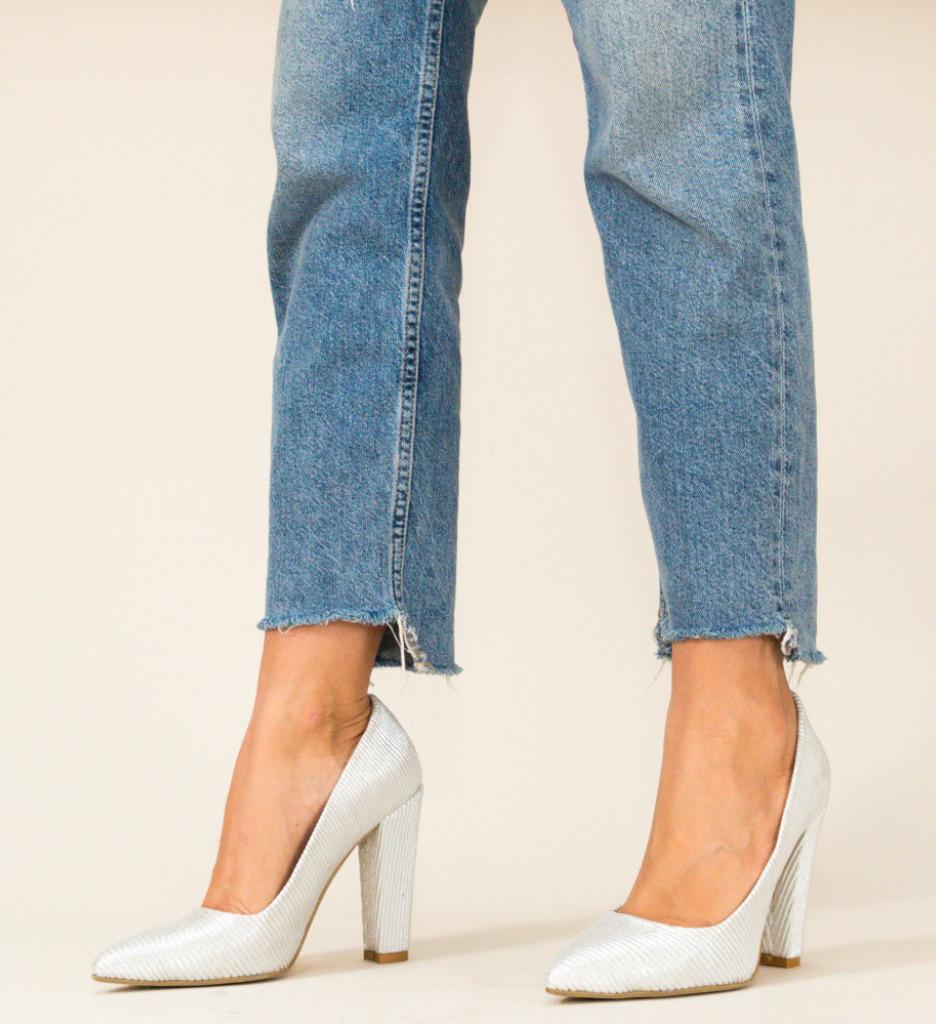 Обувки Gabono Сребърни