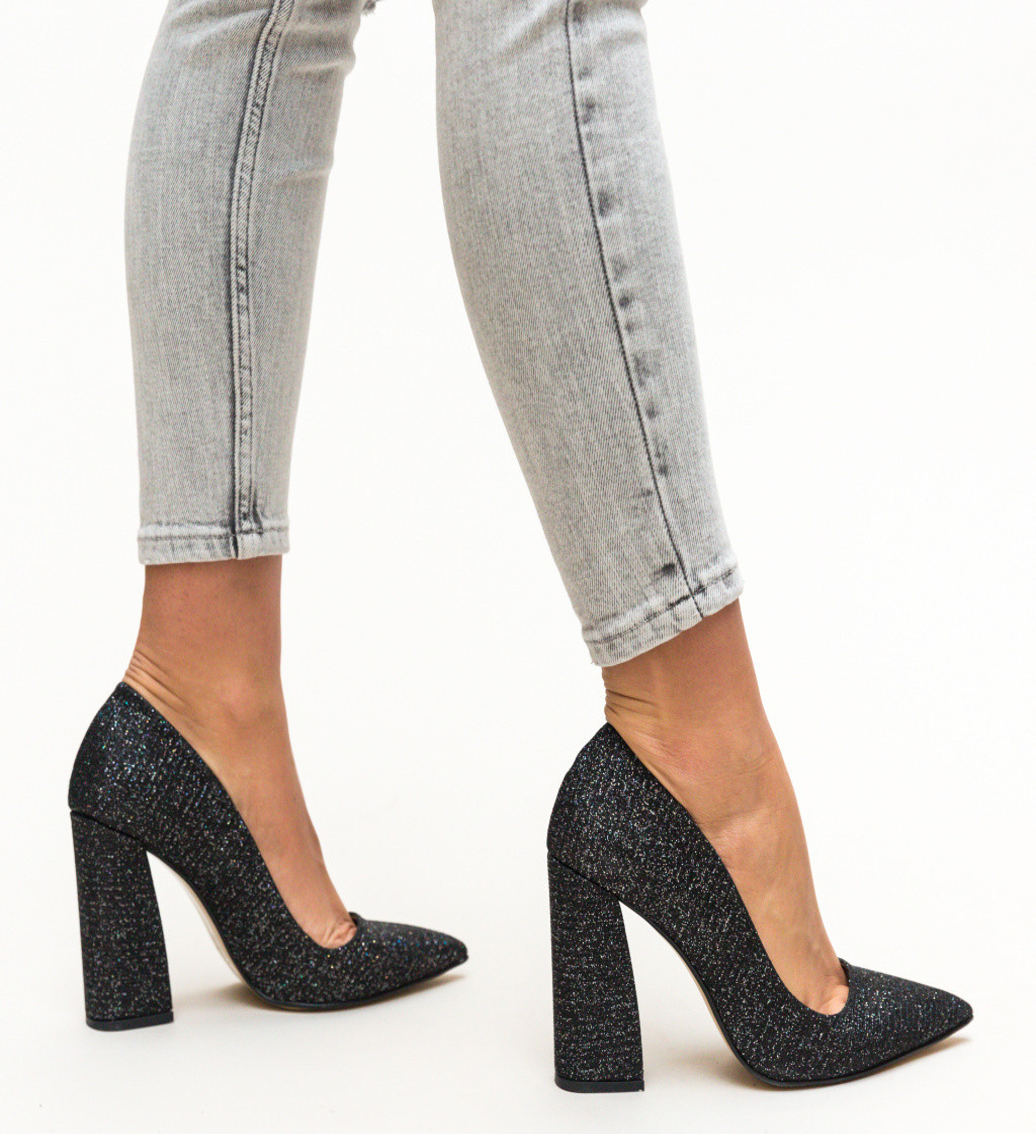 Обувки Salim Черни