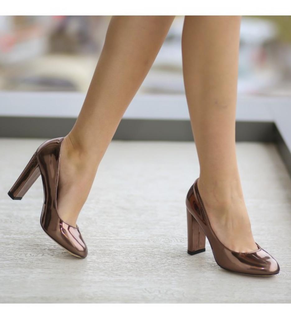 Обувки Джейн Кафяви