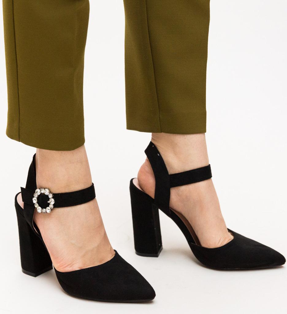 Обувки Daly Черни