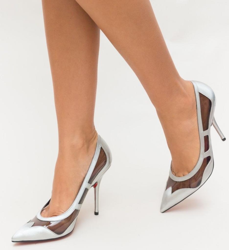 Обувки Mulder Сиви