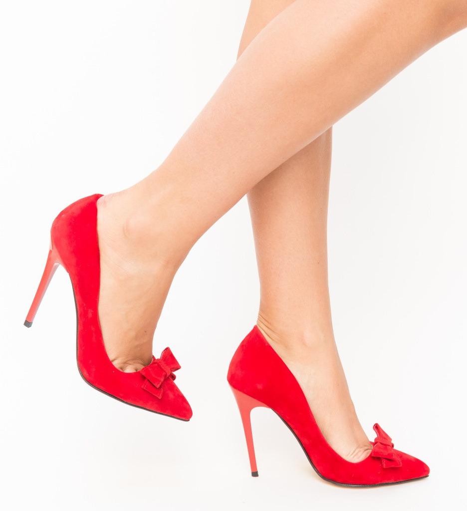 Обувки Sedul Червени