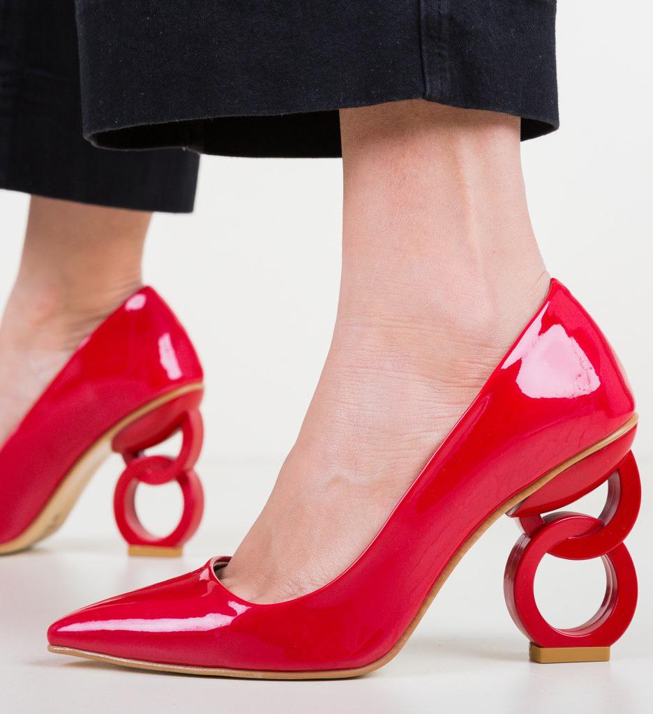 Обувки Simoni Червени