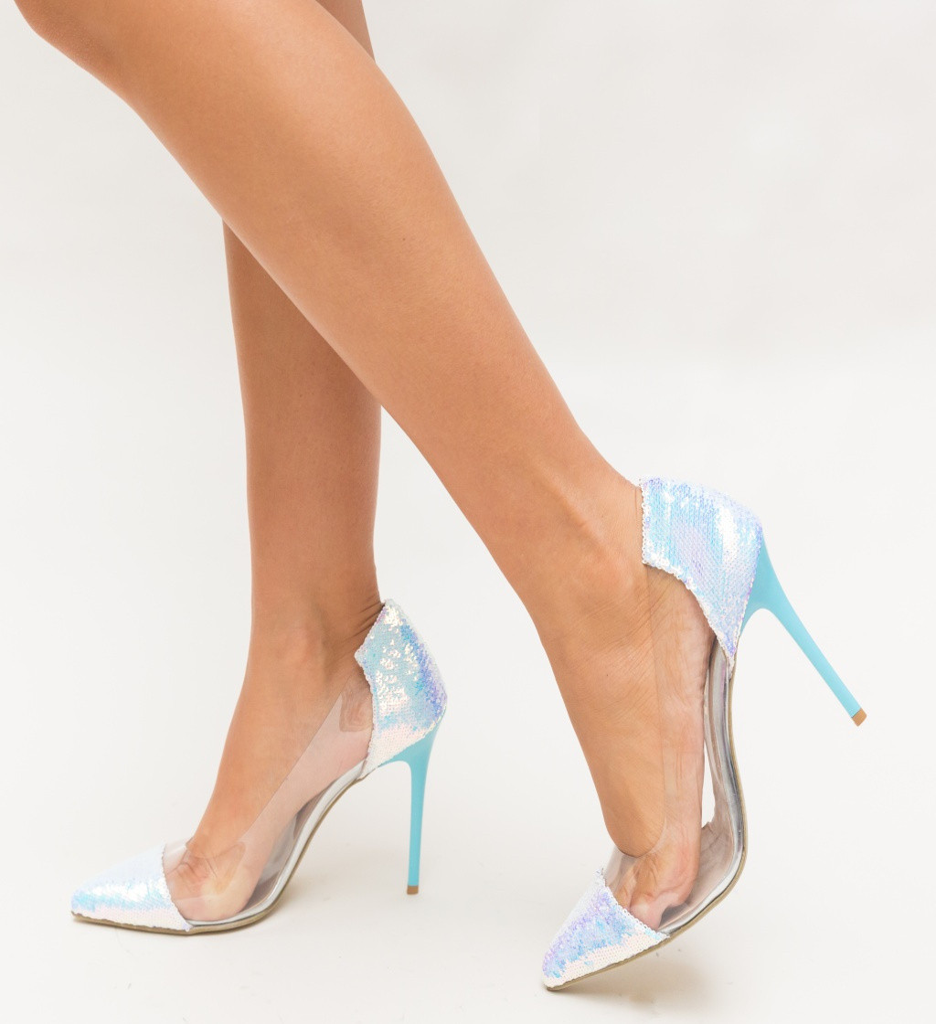 Обувки Since Сребърни