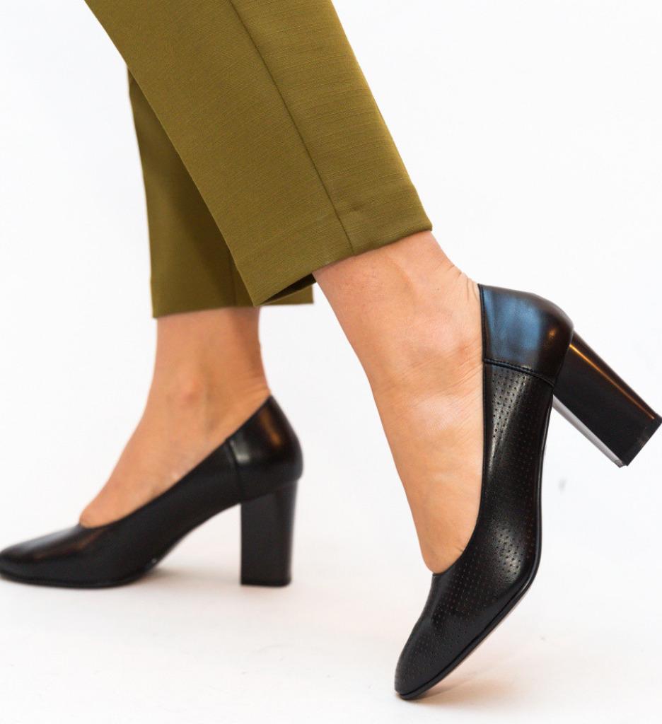 Обувки Eren Черни
