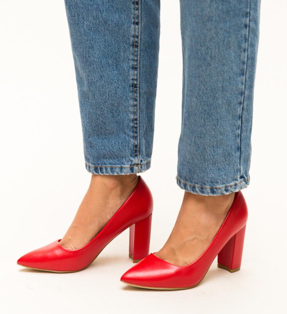 Обувки Pauline Червени