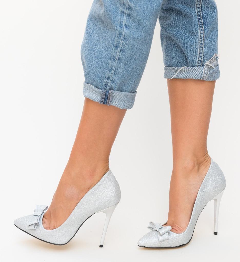Обувки Sedul Сребърни