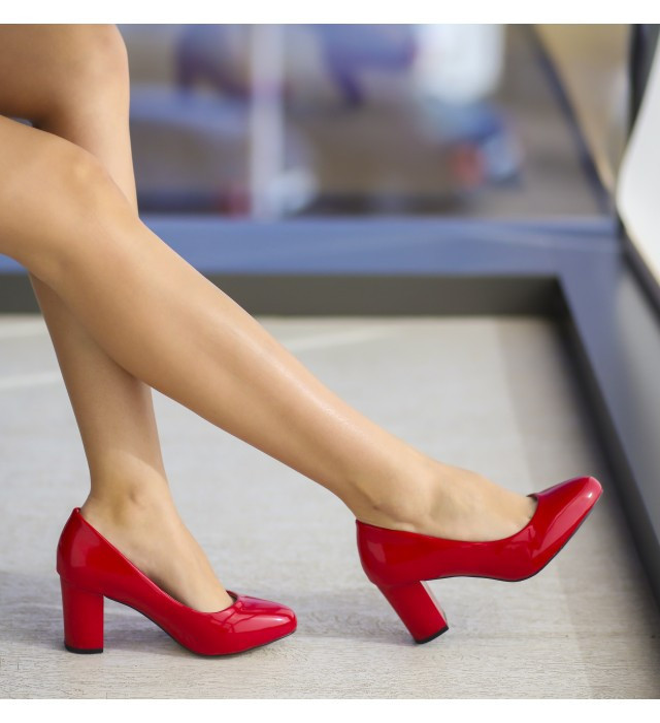 Обувки Кейс Червени