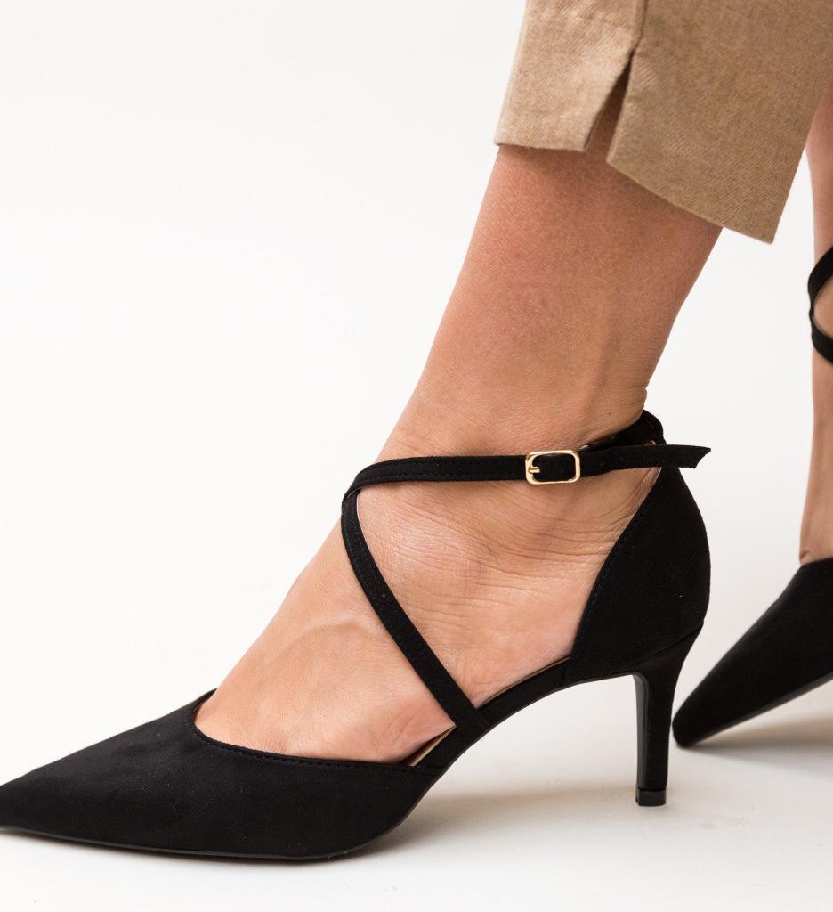 Обувки Burke Черни