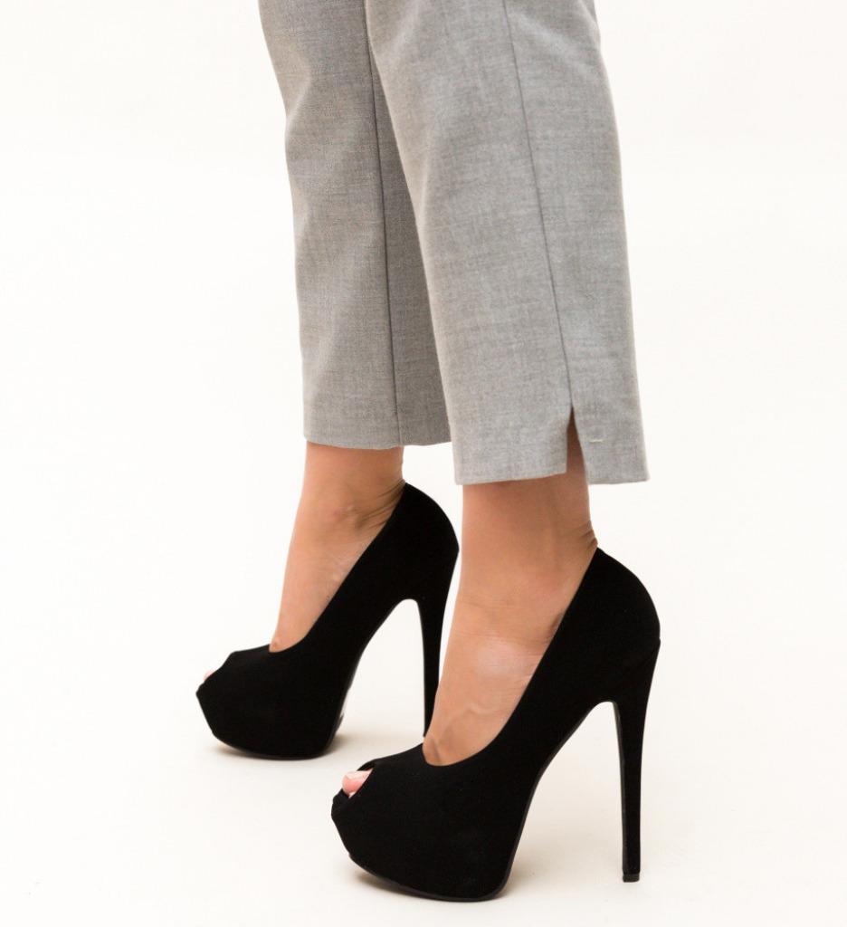 Обувки Daguno Черни