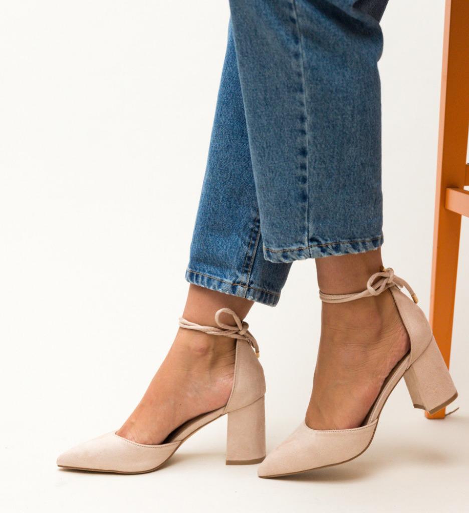 Обувки Fitonic Бежови