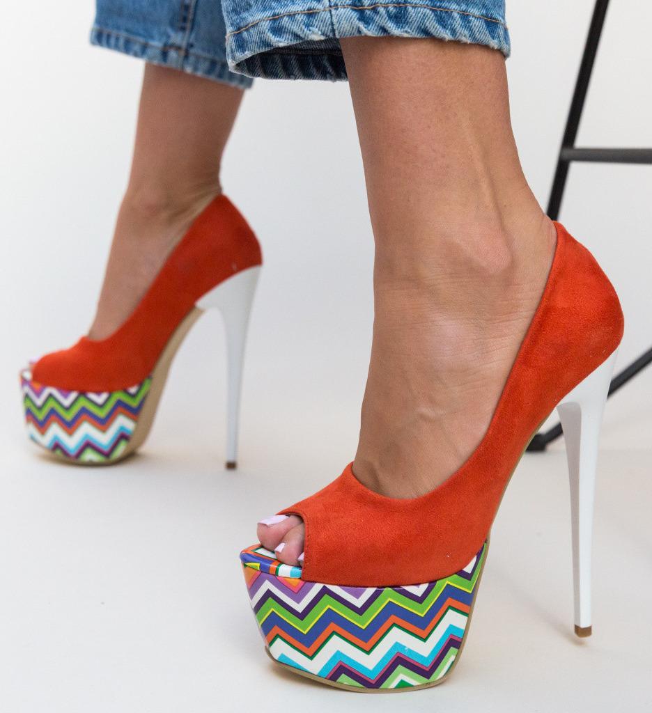 Обувки Tristar Оранжеви