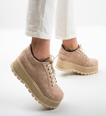 Ежедневни обувки Kislev Бежов