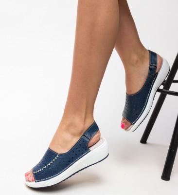 Ежедневни обувки Lindone Тъмносини