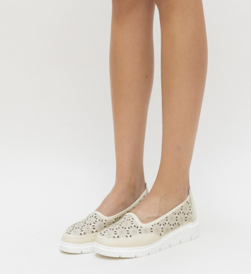 Ежедневни Обувки Rucu Бежови