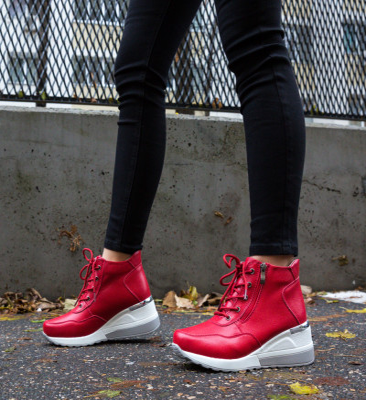 Ежедневни обувки Vance Червени
