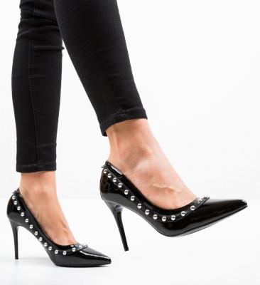 Обувки Aisli Черни