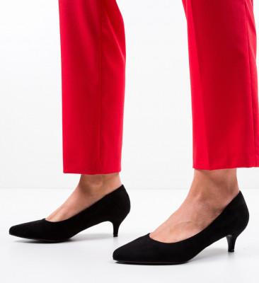 Обувки Brun Черни