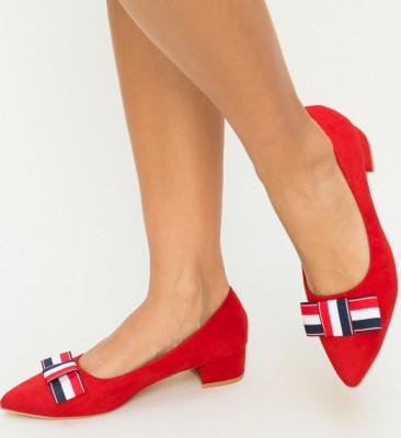 Обувки Cambio Червени