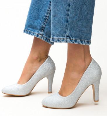 Обувки Ciscom Сребърни