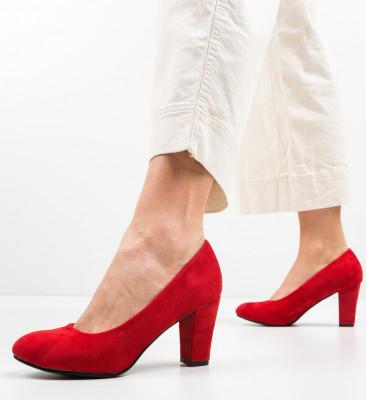 Обувки Esoum Червени