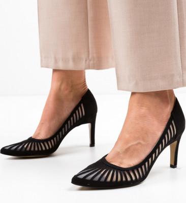 Обувки Genmeli Черни