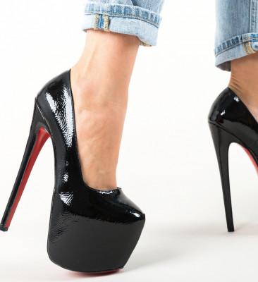 Обувки Jikos Черни