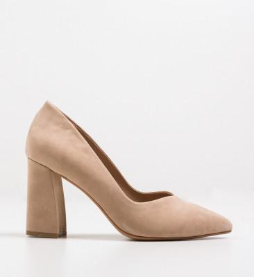 Обувки Lipon Бежов