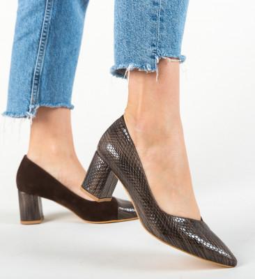 Обувки Punaka Кафяв