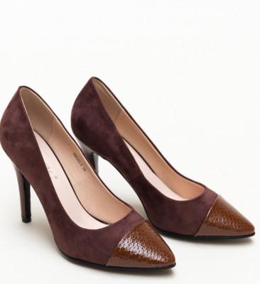 Обувки Silas Кафяви