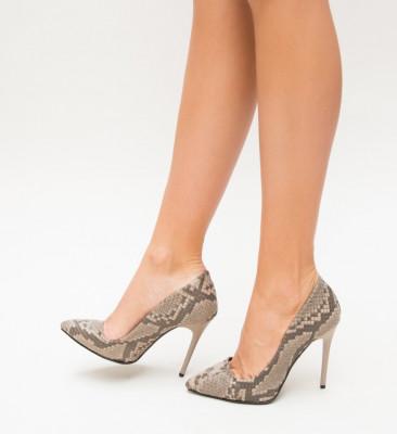 Обувки Siso Кафяви