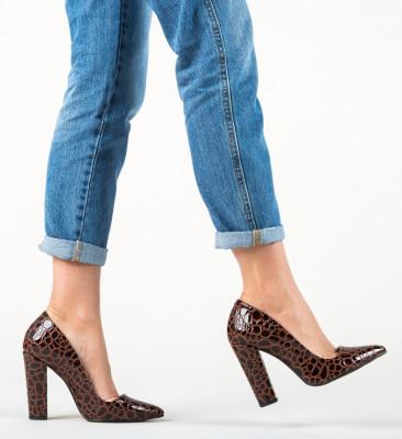 Обувки Sunshine Кафяв