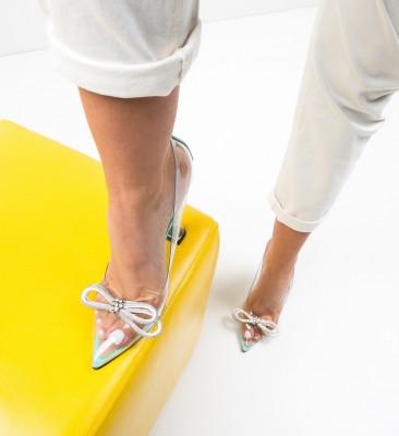 Обувки Tacop Тюркоаз