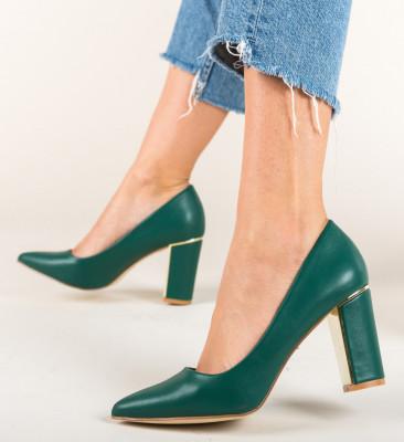 Обувки Tiramis Зелени