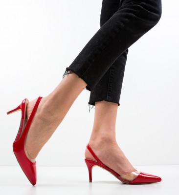 Обувки Vienna Червени