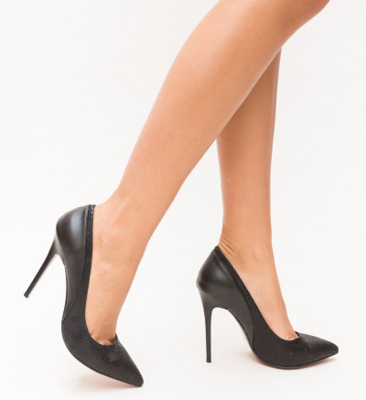 Обувки Viselo Черни