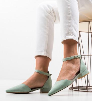 Обувки Wood Зелени