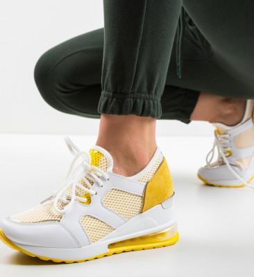 Спортни обувки Kailu Жълти
