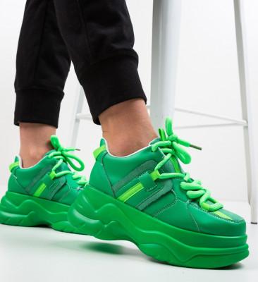 Спортни обувки Konama Зелени