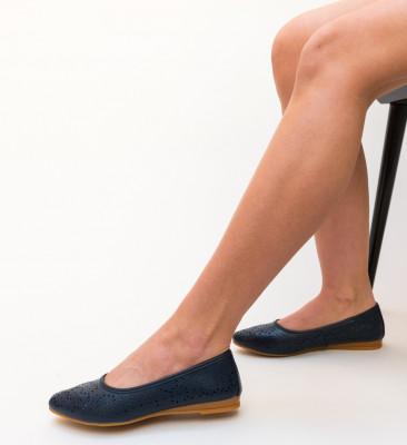 Балерини Anish Тъмно-сини