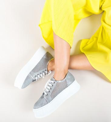 Ежедневни обувки Doheris Сребърни