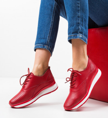 Ежедневни обувки Gough Червени
