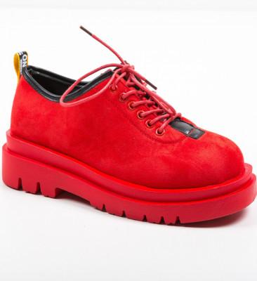 Ежедневни обувки Kajal Червени
