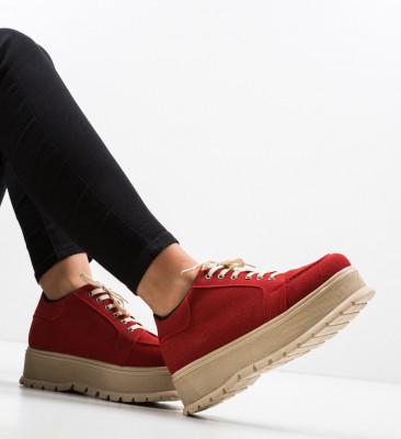 Ежедневни обувки Kisio Червени