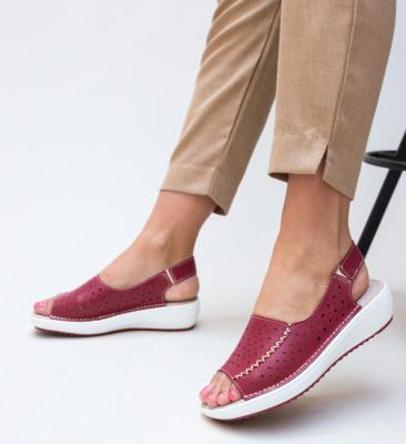 Ежедневни обувки Lindone Червени