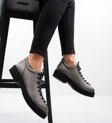 Ежедневни обувки Neavio Сив