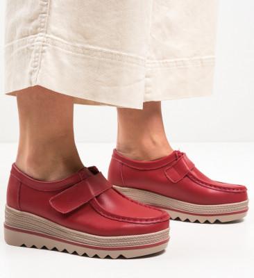 Ежедневни обувки Straif Червени