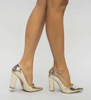 Обувки Бруно Златни