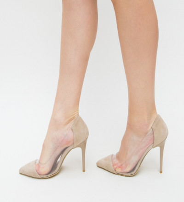Обувки Bost Бежови